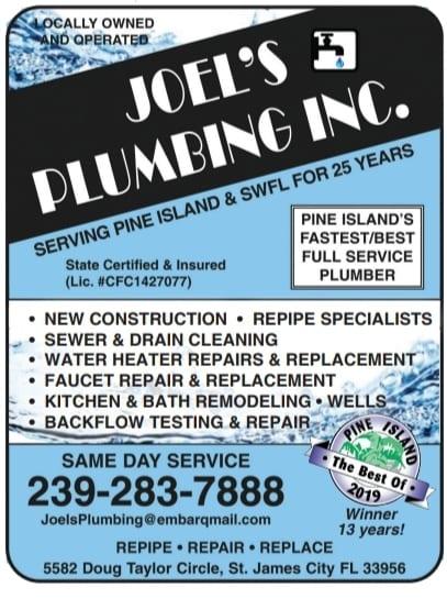 Joels Plumbing Fall 2020