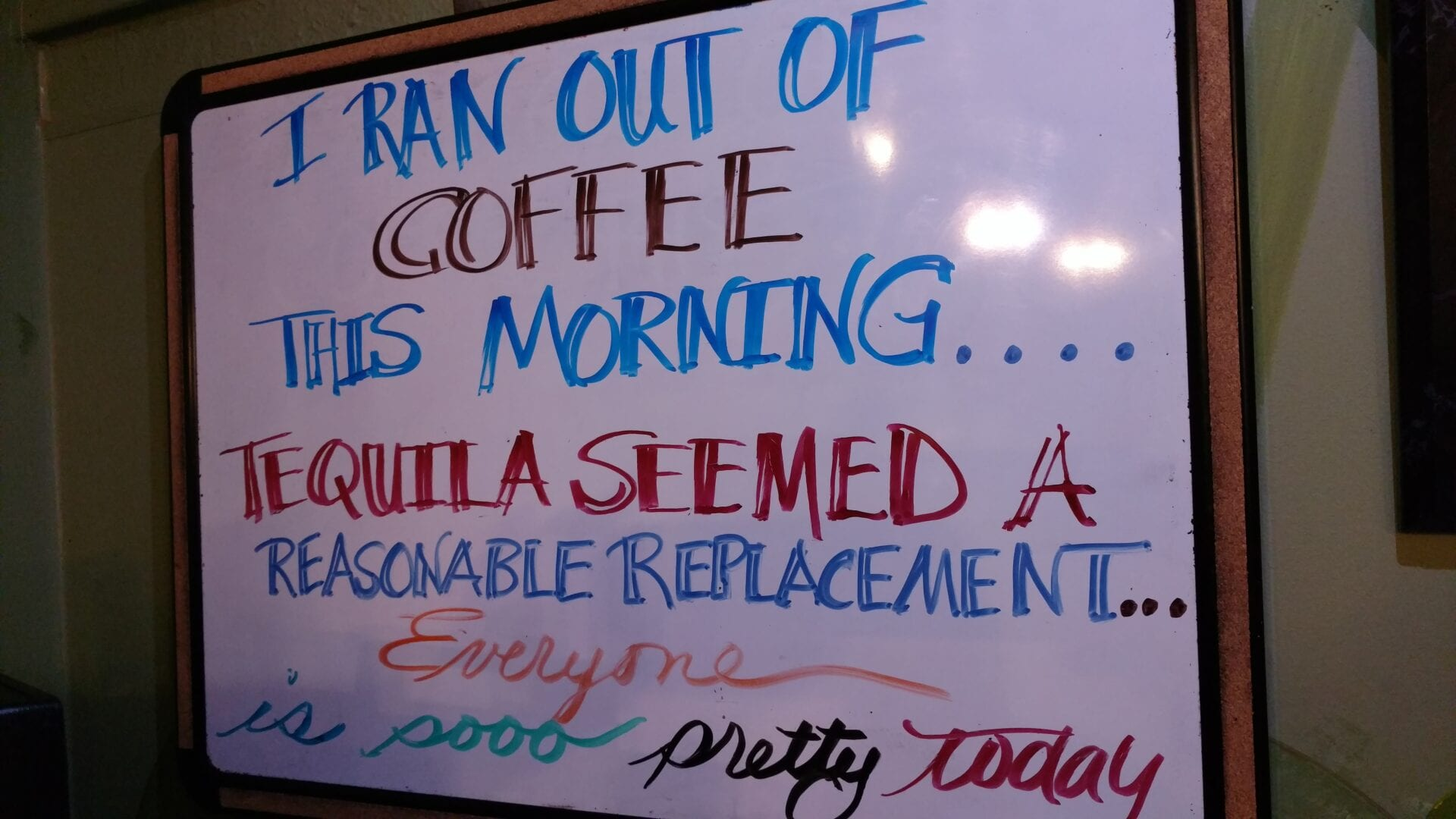 Perfect Cup Sign