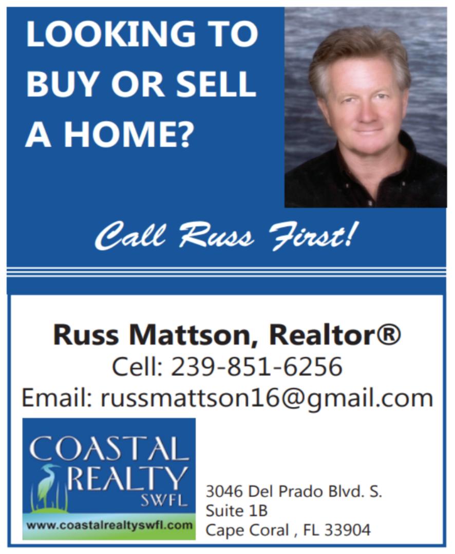 Russ Mattson Summer 2021